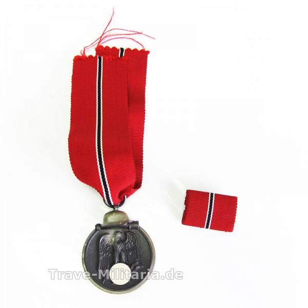 Medaille Winterschlacht im Osten mit Feldspange