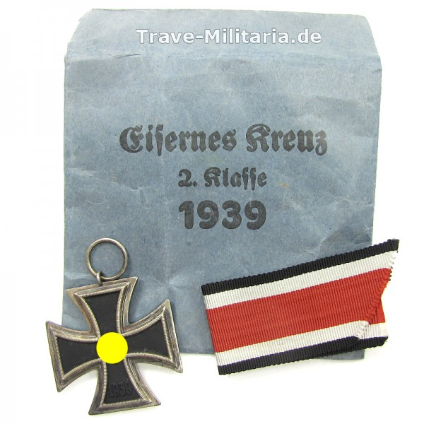 Eisernes Kreuz 2. Klasse mit Band und Verleihtüte