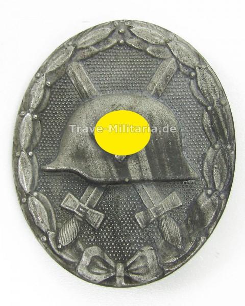 Verwundetenabzeichen in Silber Hersteller 4