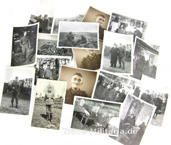 17 Fotos eines Heeressoldaten