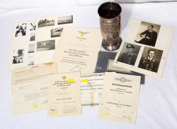 Nachlass Kampfflieger, Ehrenpokal der Luftwaffe