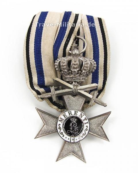 Bayern Einzelspange Militärverdienstkreuz 2. Klasse mit Krone und Schwertern