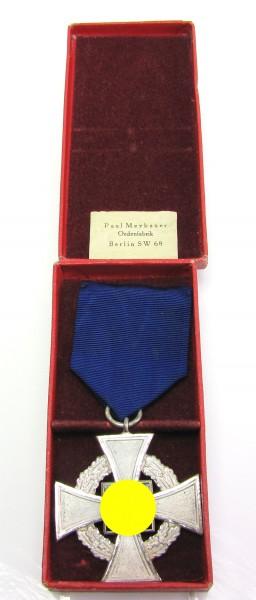 Treuedienst-Ehrenzeichen 25 Jahre im Etui