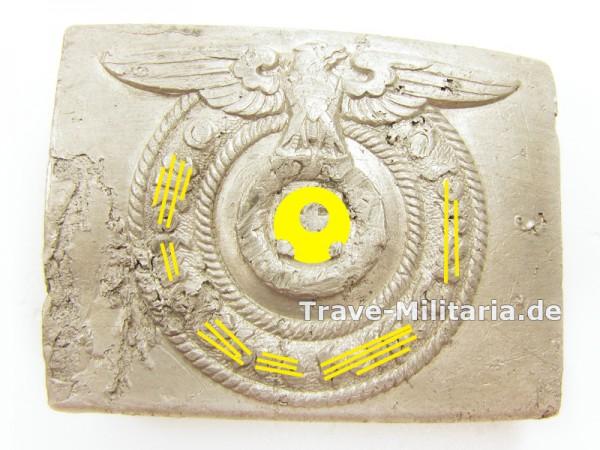 Koppelschloß Waffen-SS Bodenfund