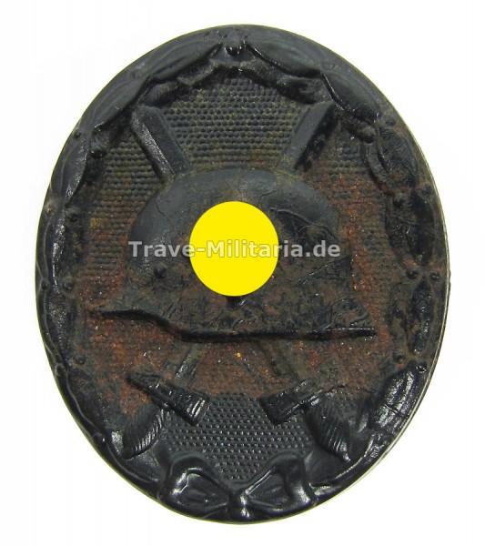 Verwundetenabzeichen in Schwarz Hersteller 118