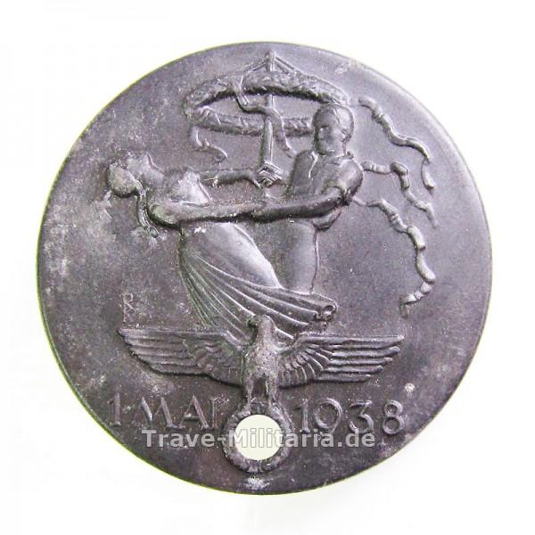 Kleinabzeichen 1. Mai 1938