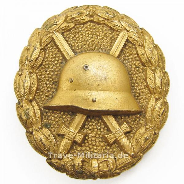 Verwundetenabzeichen in Gold 1918