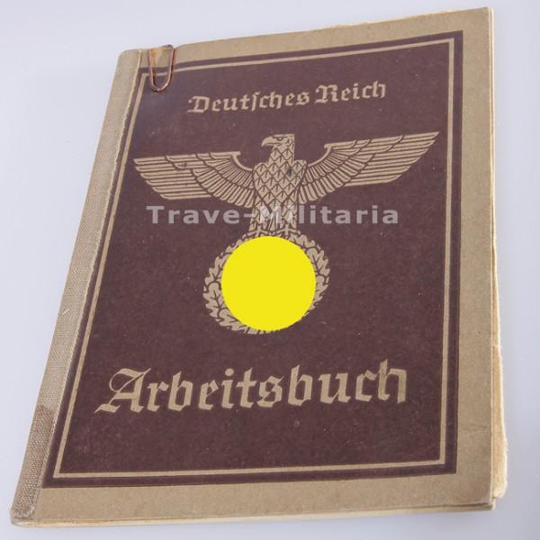 Arbeitsbuch eines Totengräbers aus Radlin / Kr. Rybnik