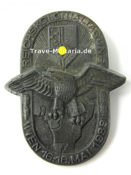 Kleinabzeichen Reichskolonialtagung Wien 16.-18. Mai 1939