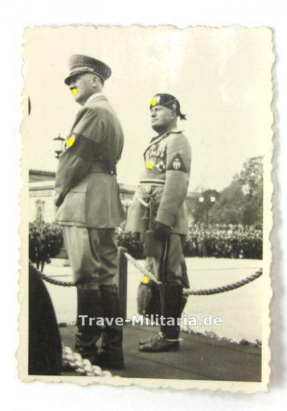 Foto Hitler und Mussloini in Rom - kein PK