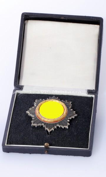 ungetragenes Deschler - Deutsches Kreuz in Gold im Etui