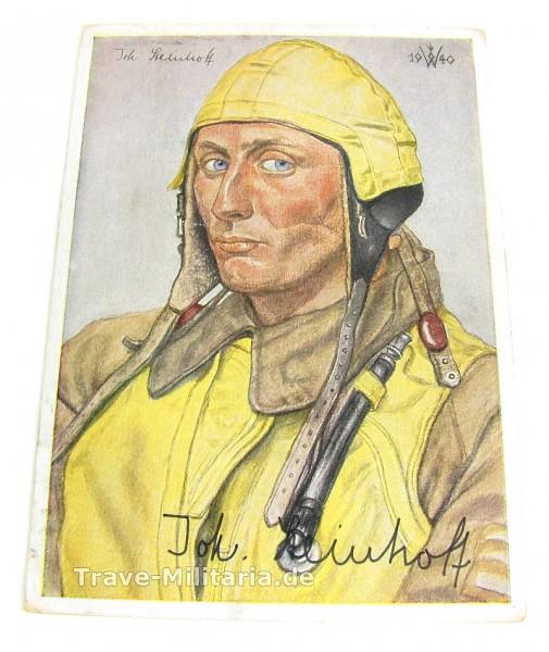 Willrich-Karte Johannes Steinhoff 1940