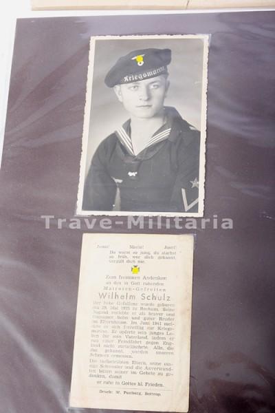 Nachlass des Matrosen-Gefreiten Wilhelm Schulz von U-619