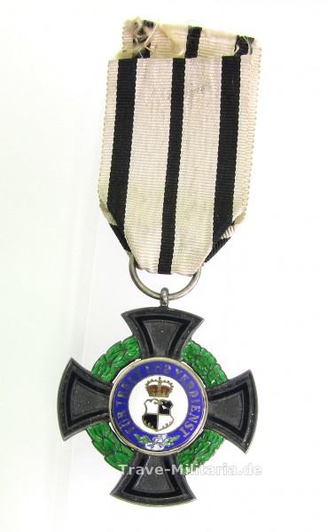 Fürstlicher Hausorden der Hohenzollern Ehrenkreuz 3. Klasse am Band