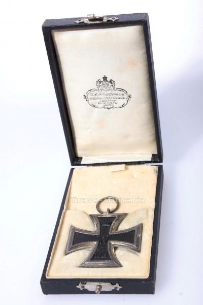 Eisernes Kreuz 2.Klasse 1914 im Etui