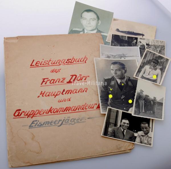 Leistungsbuch Franz Dörr JG5 Eismeerjäger