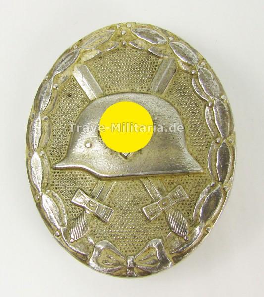 Verwundetenabzeichen in Silber Hersteller 100
