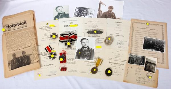 Ritterkreuznachlass Adolf Baum Ritterkreuz 26.03.1944