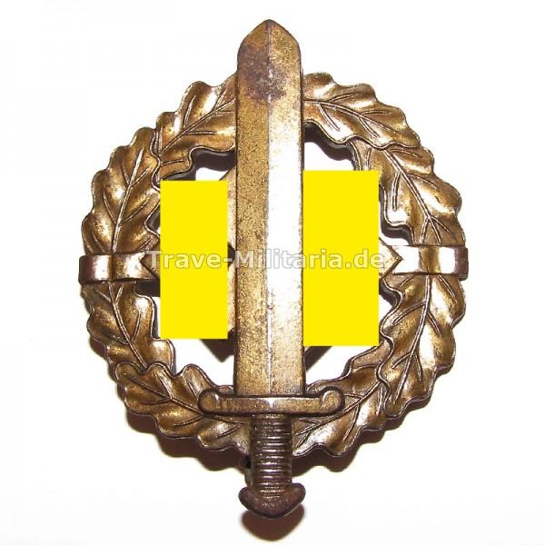 SA-Wehrabzeichen in Bronze Hersteller R. Sieper & Söhne