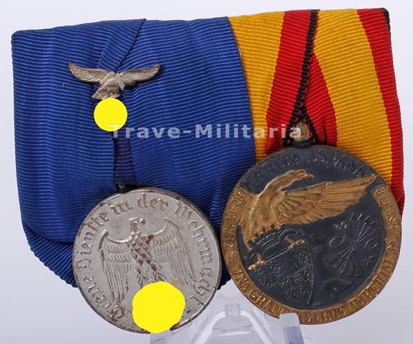 2er große Ordenspange Legion Condor