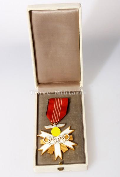 Olympia Ehrenzeichen 1936 2. Klasse im Etui