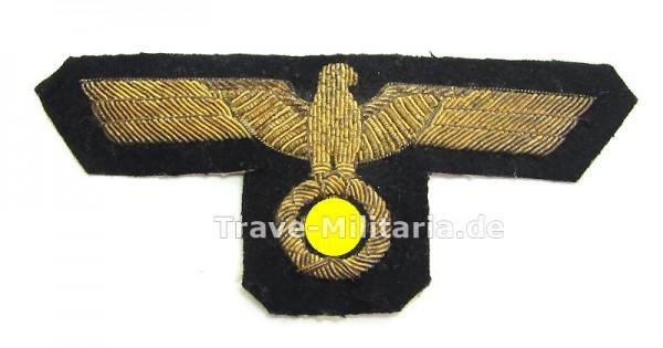 Kriegsmarine Stoff-Brustadler für Offiziere