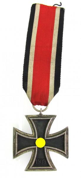 Eisernes Kreuz 2. Klasse 1939 am Band - Variante Runde 3 - Selten