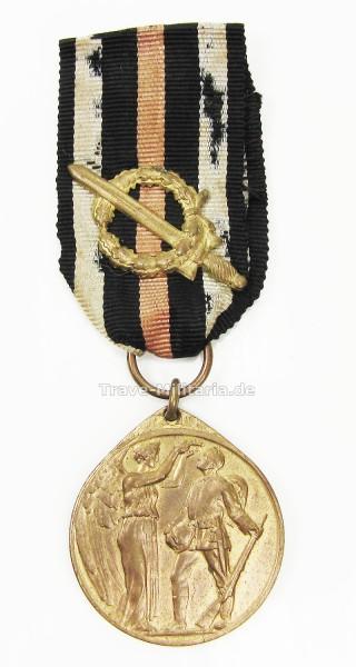 Deutsche Ehrendenkmünze mit Kampfabzeichen der Ehrenlegion