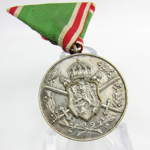 Königreich Bulgarien Erinnerungsmedaille an den Balkankonflikt 1912-13 für Kämpfer