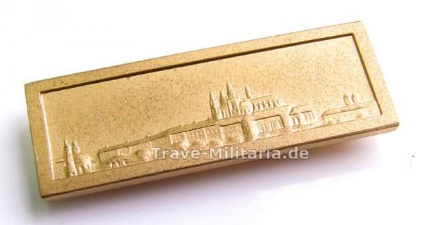 Auflage Prager Burg für die Oktobermedaille