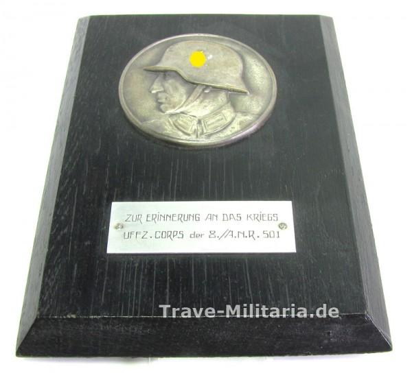 Erinnerungsbild Zur Erinnerung an das Kriegs Uffz. Corps 8./A.N.R. 501 - Armeenachrichten Regiment