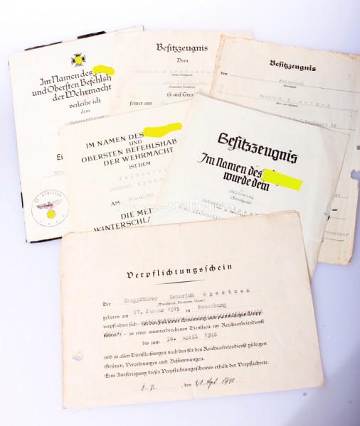 Papiergruppe Speetzen I.R.16 22 ID