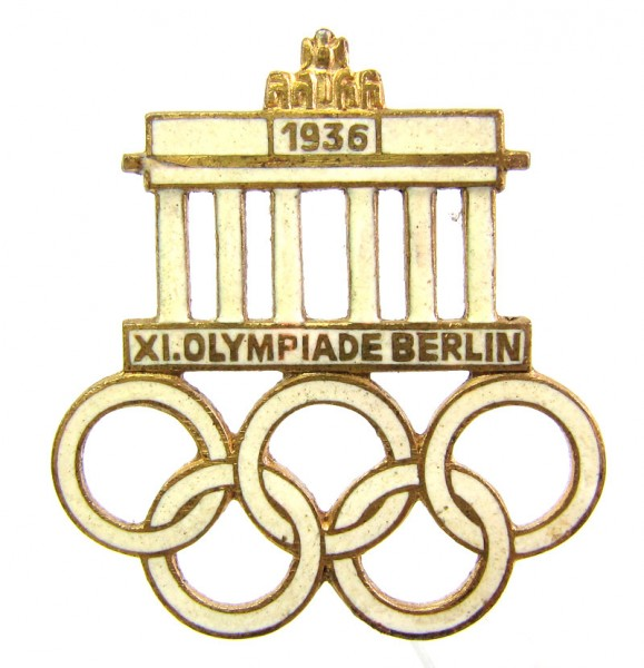 XI. Olympiade Berlin 1936 Steckabzeichen