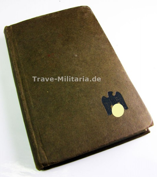 """Taschenjahrbuch """"Der Soldatenfreund"""" Heer 1943"""