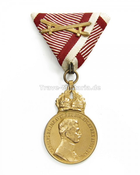 Österreich Militär-Verdienstmedaille 1917-18