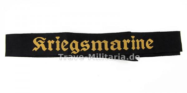 Kriegsmarine Mützenband 110 cm