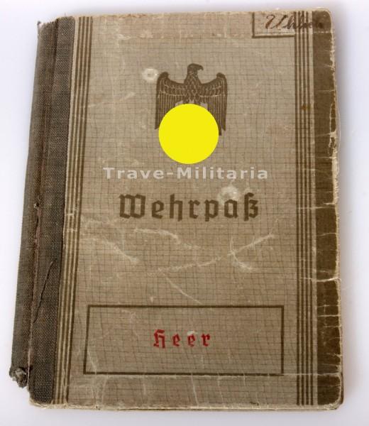 Wehrpass Uhlich Beobachtungs- Ersatz Abteilung 7 1. Weltkrieg + 2. Weltkrieg