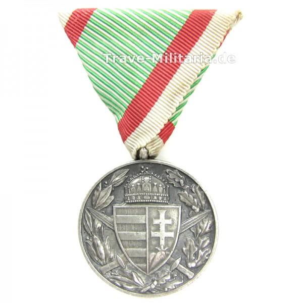 """Ungarn Kriegsdenkmünze 1914-1918 """"Bronz"""""""