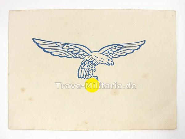 Urkunde für gute sportliche Leistung Luftwaffen-Sommersportfest 1941