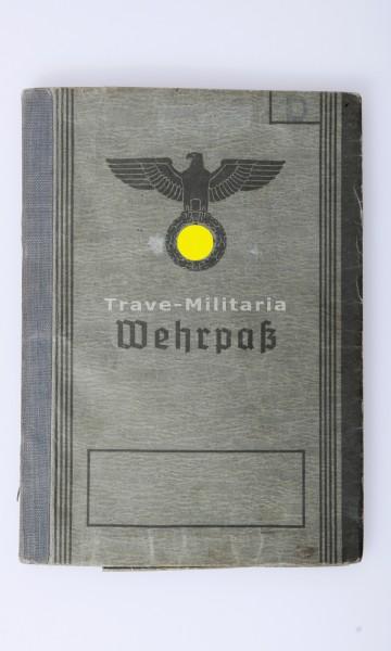 Wehrpaß Seefahrtschule der Luftwaffe