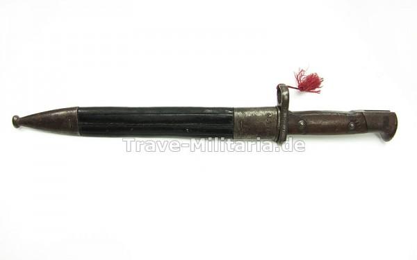 Seitengewehr 71/84 mit Lederscheide 43.R.1.87