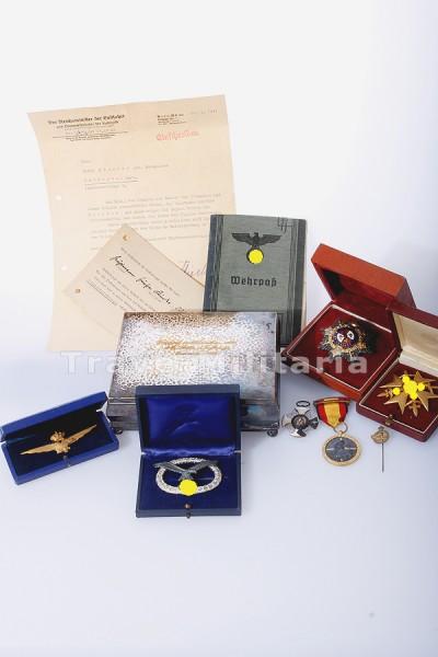 The Holy Grail der Luftwaffe - der weltweit erste bekannte Nachlass mit Fliegerschaftsabzeichen