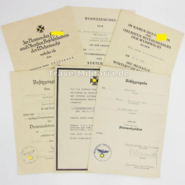 5er Urkundengruppe Infanterie-Division 253