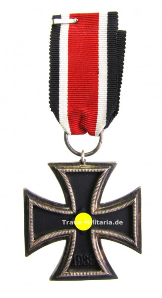 Eisernes Kreuz 2. Klasse 1939 am Band mit runder 3 - selten