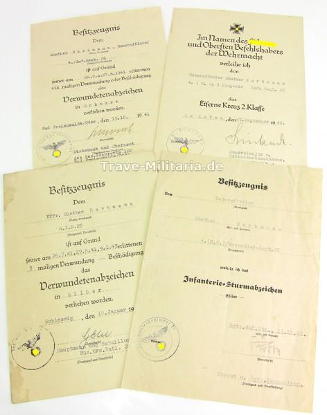 4er Urkundengruppe Infanterie-Regiment 26, 30. ID