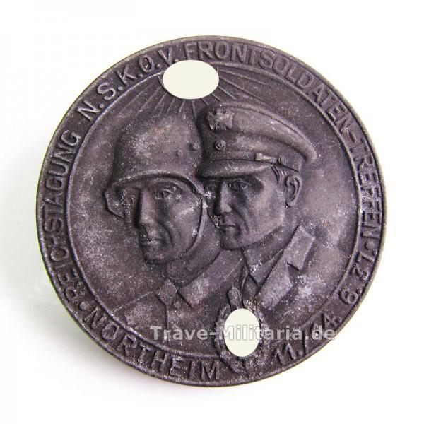 Kleinabzeichen Reichstagung NSKOV Frontsoldaten Treffen Northeim 1937
