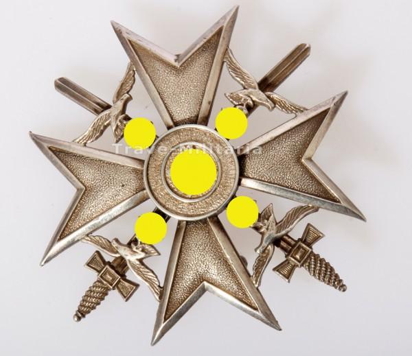 Spanienkreuz in Silber mit Schwertern 835 Silber