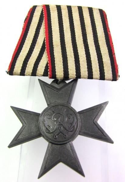 Kreuz für Kriegshilfsdienst an Einzelspange