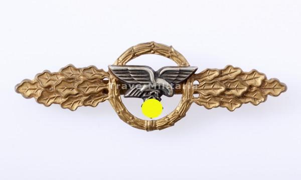 Frontflugspange in Gold für Transportflieger