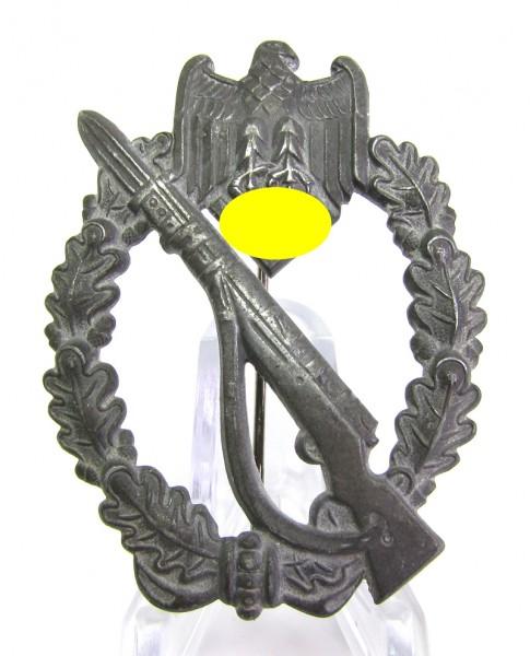 Infanteriesturmabzeichen Silber massiv - Hersteller Franke und Co.
